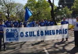 VEJA VÍDEO: Movimento realiza plebiscito informal pedindo independência da região Sul