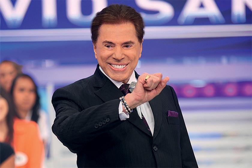silviosantos - Silvio Santos comenta tatuagem de mulher: 'Posso chupar esse sorvete?'