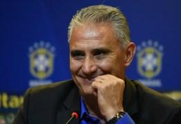 Brasil teria garantido vaga apenas com os jogos de Tite à frente da Seleção