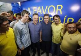 """Reconduzido à presidência do PSDB, Ruy Carneiro crava """"fim do ciclo do PSB no governo"""""""