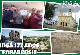 Bosco Carneiro recebe título de cidadão ingaense no aniversário de Ingá