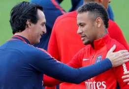 Jornal traz atrito entre Neymar e técnico do PSG