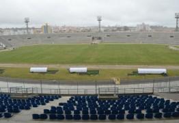 A dois meses do início do Paraibano, sete estádios ainda estão com pendências