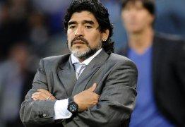 Maradona se irrita após derrota da Argentina e posta: 'Eu quero voltar!