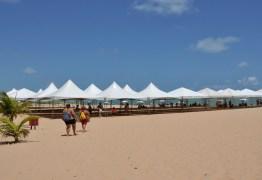 Cadastro para instalação de tendas na praia no réveillon de João Pessoa termina nesta sexta