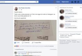 Aluno pede nota e professora promete 10 se Chico Buarque a seguir no Instagram; veja