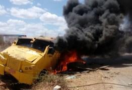 Grupo armado ataca carro forte na cidade de Paulista, no Sertão da PB – VEJA VÍDEO