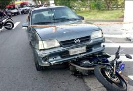 Após discussão, vizinho atropela casal em moto e mata homem