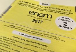 Quase 50 mil paraibanos faltam a prova do Enem