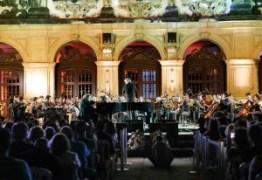 Após lotação no primeiro dia, Luciano Cartaxo destaca sucesso do Festival de Música Clássica