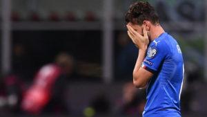 itália desclassificada 300x169 - Itália perde para a Suécia e fica de fora da copa do mundo após 60 anos