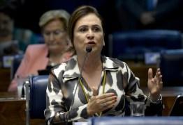 Conselho de Ética do PMDB decide expulsar a senadora Kátia Abreu