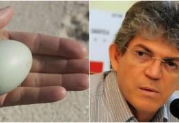 OUÇA: Antônio Mineral compara Ricardo Coutinho a 'galinha' põe o ovo e divulga bem