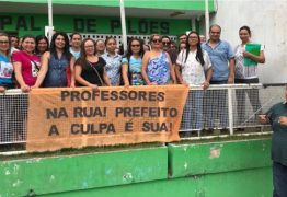 Professores paralisam as atividades em Pilões e exigem que a prefeitura pague precatórios
