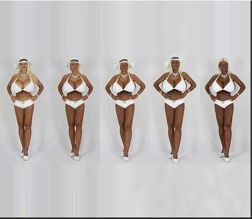 transracial03 - Alemã vira negra e quer ser a primeira Barbie 'transracial'