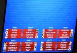 Brasil cai em grupo da morte em ensaio de sorteio para Copa de 2018