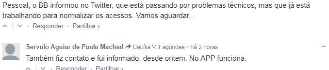 03 1 - Clientes do Banco do Brasil têm dificuldades para realizar operações nesta Quarta-feira