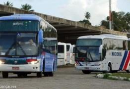 Mesmo com viagens suspensas, Terminal Rodoviário de João Pessoa segue funcionando
