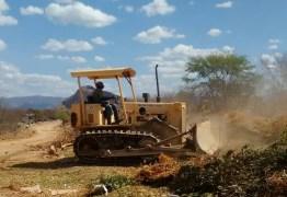 Prefeitura de Patos realiza trabalhos para prevenir propagação de incêndios no lixão