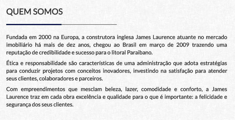 James Lawrence empresa - BRISAS DE COQUEIRINHO: Construtora James Lawrence é alvo de operação da Polícia Civil