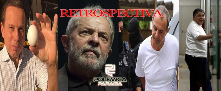 RETROSPECTIVA - Gravações, denúncias, prisões...Cinco fatos políticos que agitaram o Brasil em 2017 -VEJA VÍDEOS