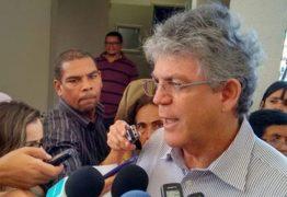 EMBATE: governador Ricardo Coutinho promete acionar STF caso Governo de Michel Temer barre financiamentos à Paraíba