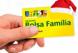 Pagamento do abono natalino do Bolsa Família é prorrogado em 37 cidades da PB