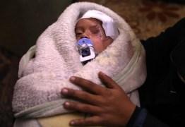 Foto de bebê sírio que perdeu um olho motiva campanha de solidariedade
