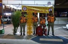 Mais de 130 bombeiros irão atuar no Réveillon