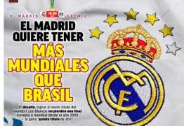 Jornal diz que Renato é egocêntrico e que Real joga para ter mais Mundiais que Brasil