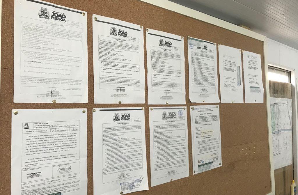 """certidoes ferreira costa 1024x670 - Após repercussão e """"dura"""" do governador, PMJP tenta justificar veto a obra do Grupo Ferreira Costa"""
