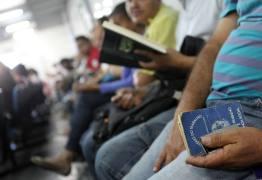 Brasil deixa de criar 80% das vagas de trabalho previstas