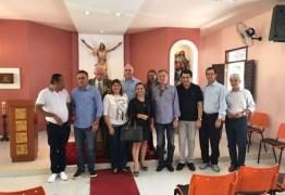 BASTIDORES: Cartaxo e Manoel Jr se reúnem com Aguinaldo Ribeiro par discutir cenário político