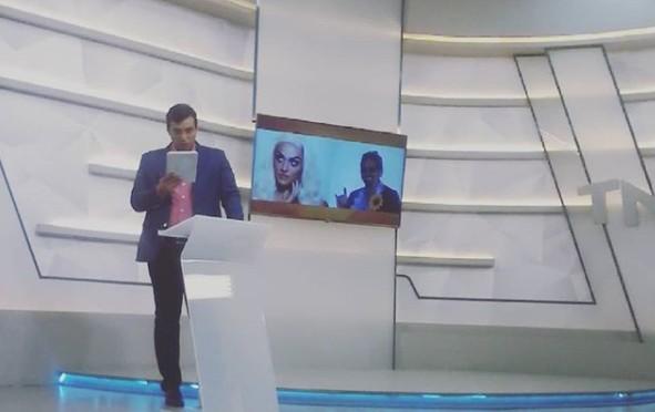 fábio - POLÊMICA NA TV TAMBAÚ: Fábio Araújo faz piada com Pablo Vittar e ganha suspensão por 'homofobia'
