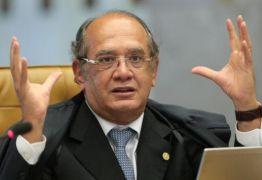 'ENFIA NA BUNDA': Gilmar Mendes afirma que pergunta de repórter da Folha é molecagem