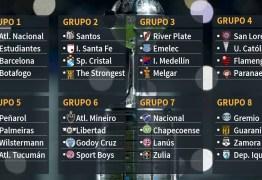 Sorteio põe Boca no caminho do Palmeiras na fase de grupos da Libertadores