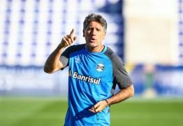 Antes de final do Campeonato Mundial Renato Gaúcho ratifica: 'fui melhor que Cristiano Ronaldo'