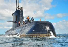 Irmã revela mensagem de tripulante e sugere que submarino pode ter sido atacado