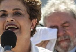 """""""Golpe"""" quer """"tirar Lula"""" porque não tem candidato para enfrentá-lo, diz Dilma"""