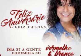 Luiz Caldas é atração principal do Baile 'Vermelho e Branco' 2018