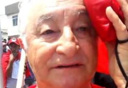 Deputado frei Anastácio ferido em confronto nas manifestações pro Lula na Justiça Federal