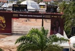Organizadores do Fest Verão controlam alagamento em Arena e torcem para não chover mais até amanhã