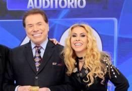 Joelma dá patadas em Silvio Santos após provocações do apresentador