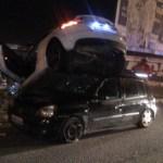 acidente avenida beira rio - Após causar grave acidente na avenida beira-rio motorista é acusado de dirigir sob efeito de álcool