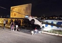 Após causar grave acidente na avenida beira-rio motorista é acusado de dirigir sob efeito de álcool