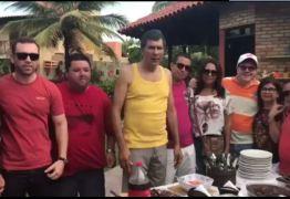 VÍDEO: Ricardo Barbosa reúne lideranças políticas do interior em almoço festivo em sua residência