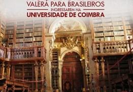 Universidade de Coimbra aceita brasileiros com notas do Enem