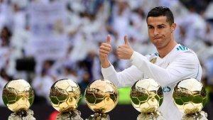 cr7 bola de ouro 300x169 - Ronaldo diz que Messi e CR7 não teriam tantas Bolas de Ouro em sua geração