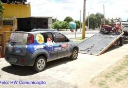 Carro do Paraíba de Prêmios é apreendido pela P.R.F, no sertão da Paraíba