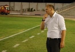 Desportiva Guarabira anuncia Luciano Silva como substituto de Wassil Mendes